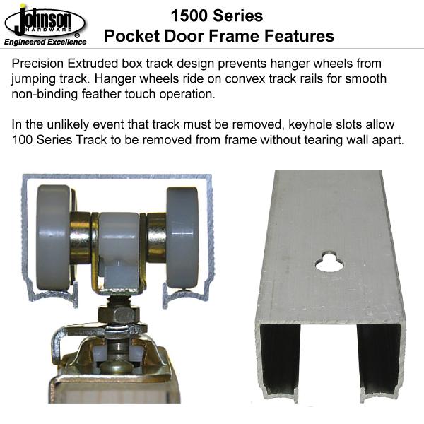 1500hd series pocket door frames