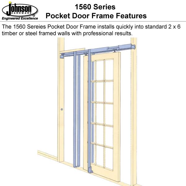 Sliding Door Into Wall johnsonhardware sliding | folding | pocket door-hardware