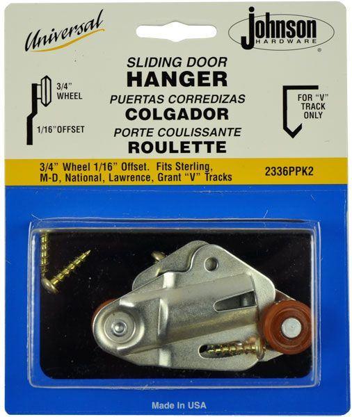 2336ppk2 Universal Hanger Set Johnsonhardware Com
