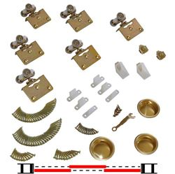 "Picture of 10311383 3-Door Part Set, 1-3/8"" [35mm] Door"