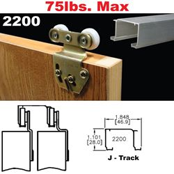 Picture of 2200 Sliding Bypass Door Hardware