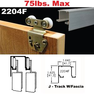 Picture of 2204F Sliding Bypass Door Hardware