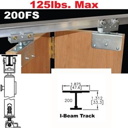 200FS Side Mounted Bi-Fold Door Hardware