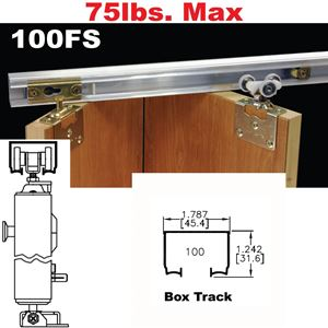 Picture of 100FS Side Mounted Bi-Fold Door Hardware