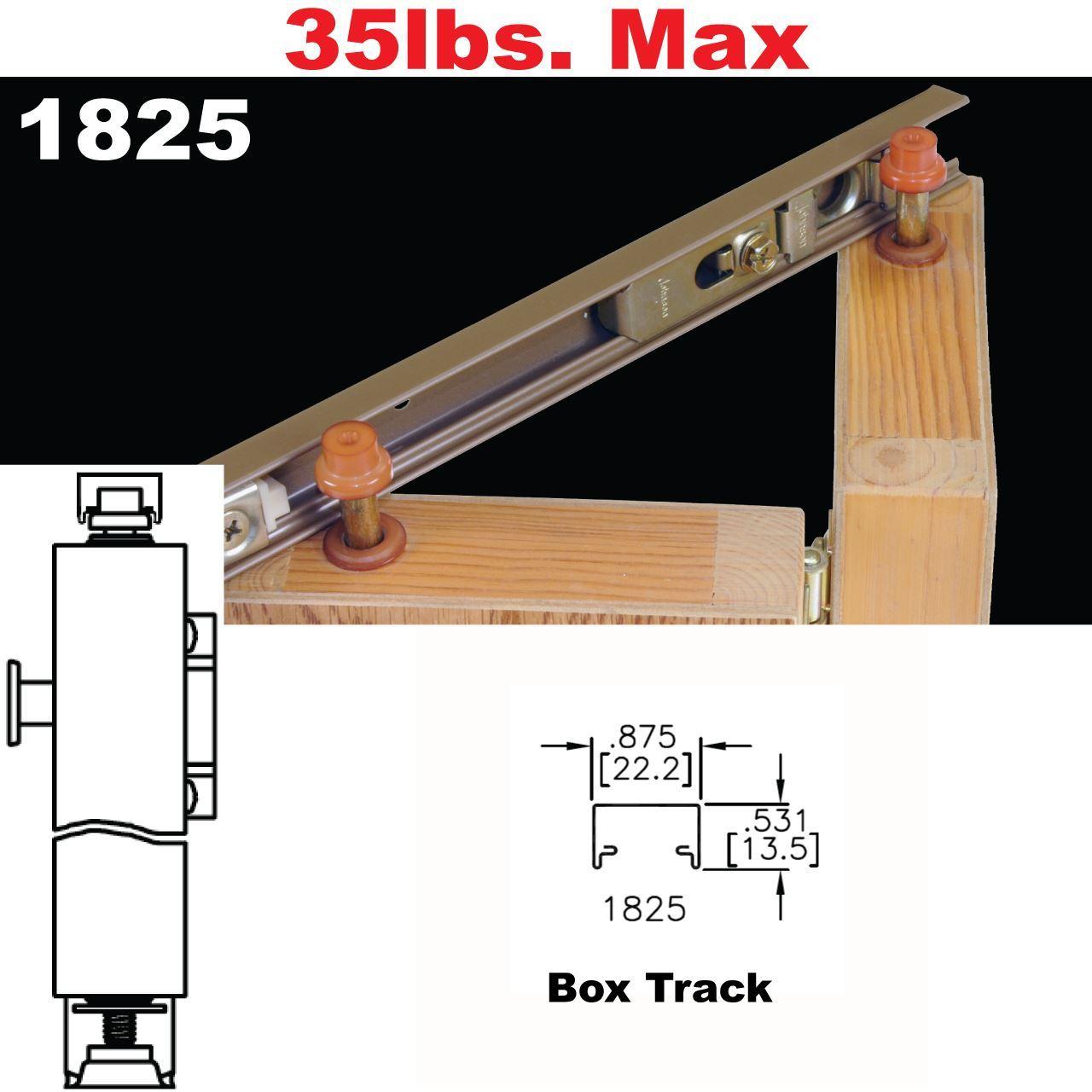 Johnson Hardware 1825 Tap In Bi Fold Door Hardware Johnsonhardware