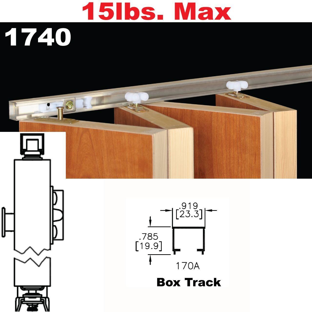 Picture of 1740 multi fold interior shutter hardware