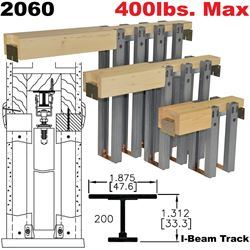 2060 series heavy duty pocket door frame kits