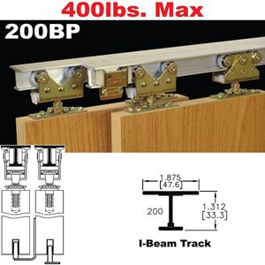 Picture of 200BP Bypass Pocket Door Hardware
