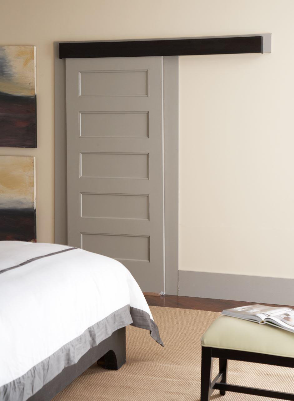 Sliding Doors Hardware: Johnson Hardware 200WF Wall Mounted Sliding Door Hardware