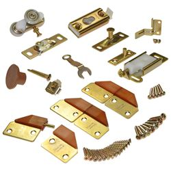 Picture of 1031FD02 100FD 2-Panel Part Set, Brass/Brown