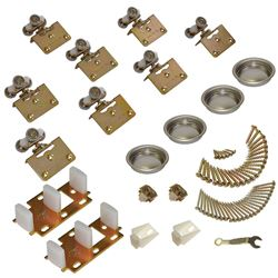 "Picture of 13313844 138F 4-Door Side Mount Part Set, 1-3/8"" [35mm] Door"