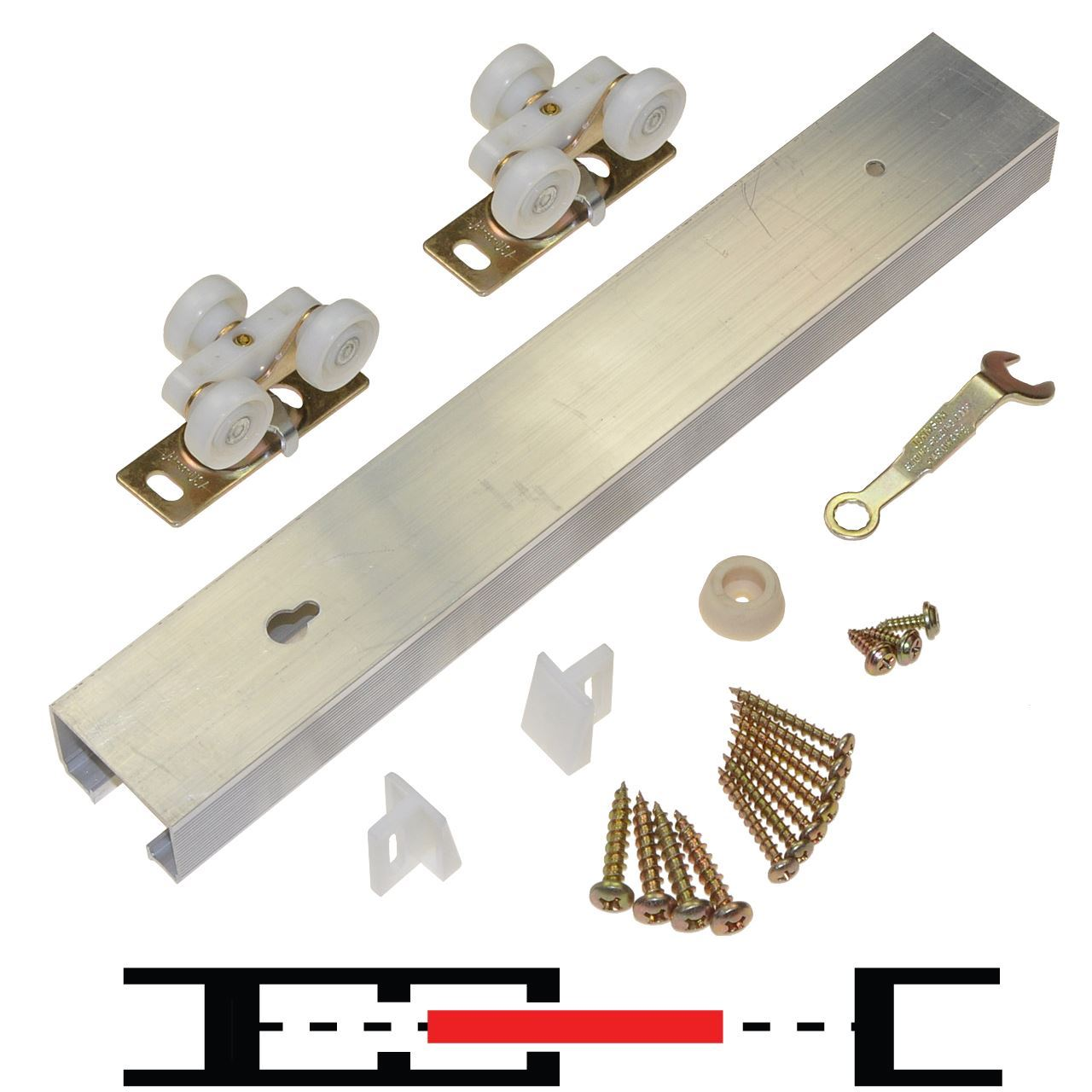 100pd 1 door hardware set 60 track Bifold door hardware
