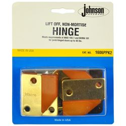 Picture of 1606PPK2 Lift-Off Non-Mortise Hinge Set