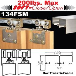 Picture of 134FSM Side Mount Sliding Bypass Door Hardware