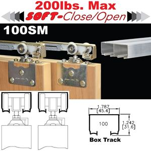 Picture of 100SM Side Mount Sliding Bypass Door Hardware