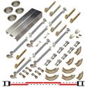 "Picture of 134FSC 24"" 4-Door Soft-Close Hardware Set"