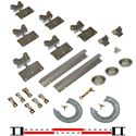 "Picture of 200SM 48"" 3-Door Hardware Set, 1-3/8"" [35mm] Door"