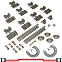 "Picture of 200SM 24"" 4-Door Hardware Set, 1-3/8"" [35mm] Door"