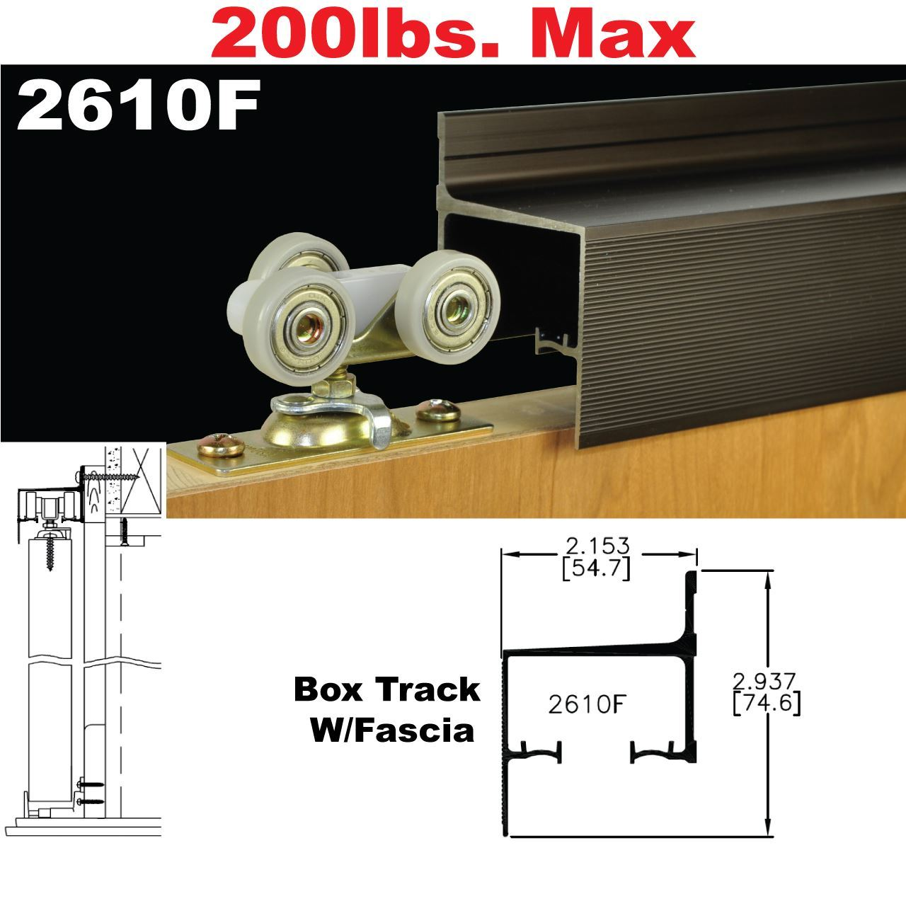 Pocket Door Track Hardware johnsonhardware sliding | folding | pocket door-hardware