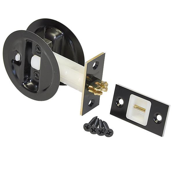 ... Picture Of Auto Latching Pocket Door Locks
