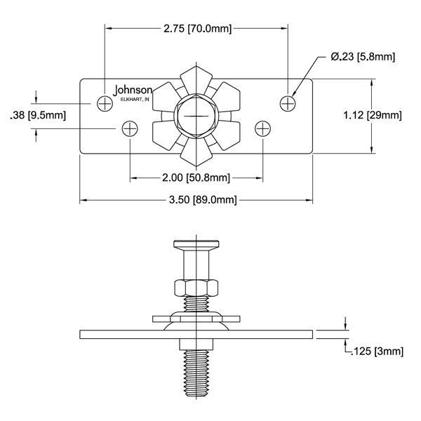 2021 Hanger Plate Assembly Johnsonhardware Com Sliding