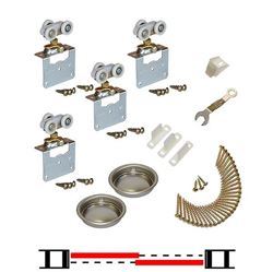 "Picture of 11313812 2-Door Side Mount Part Set, 1-3/8"" [35mm] Door"