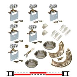 "Picture of 11311813 3-Door Side Mount Part Set, 1-1/8"" [29mm] Door"