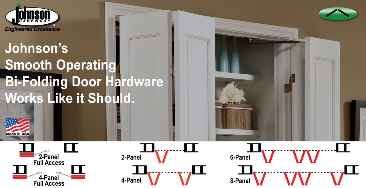 Bi Folding Door Hardware Johnsonhardware Sliding Folding