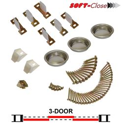 Picture of 1031SC03 3-Door Soft-Close Part Set