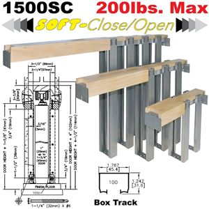 Picture of 1500SC Series Soft-Close Pocket Door Frame Kits