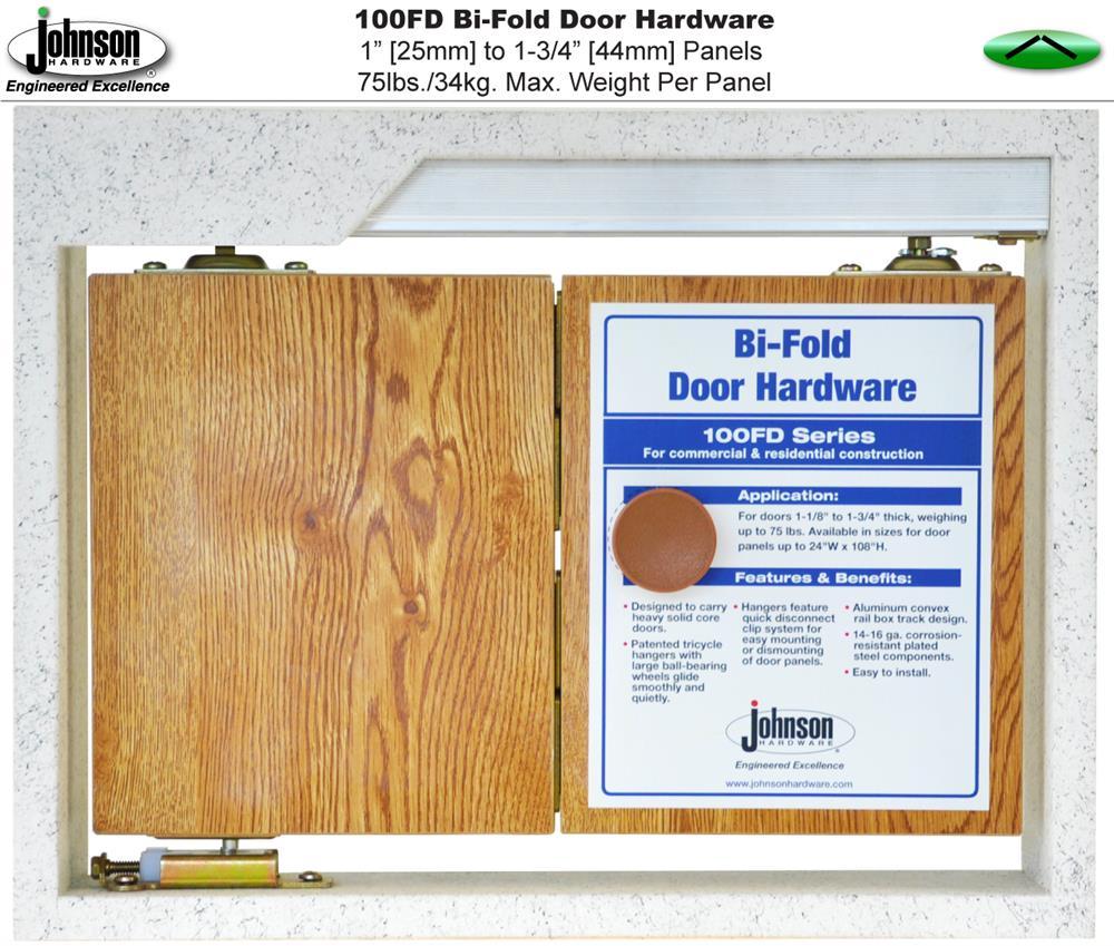 Johnson Hardware 100fd Bi Fold Door Hardware