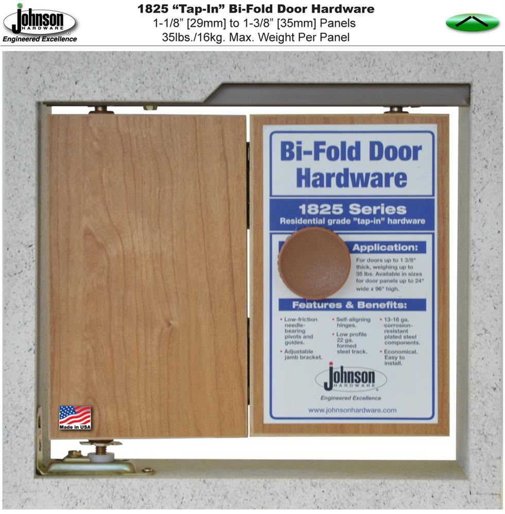 Johnson 1825 Series Folding Door Hardware Parts Kit