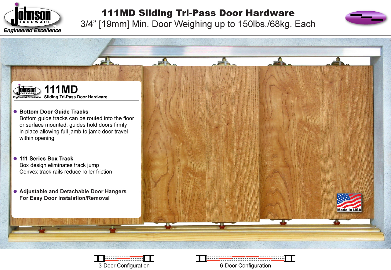 Johnson Hardware 111md Multi Pass Sliding Door Hardware Johnsonhardware Com Sliding Folding Pocket Door Hardware