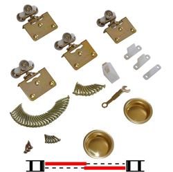 "Picture of 10311382 2-Door Part Set, 1-3/8"" [35mm] Door"