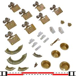 "Picture of 10311384 4-Door Part Set, 1-3/8"" [35mm] Door"