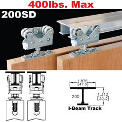 Picture of 200SD Sliding Bypass Door Hardware