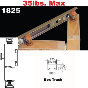 "Picture of 1825 ""Tap-In"" Bi-Fold Door Hardware"
