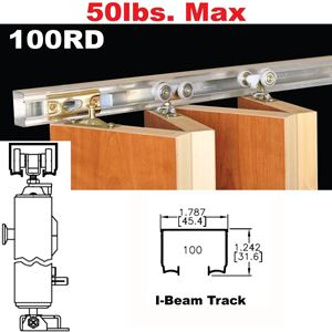 Picture of 100RD Multi-Fold Door Hardware