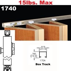 Picture of 1740 Multi-Fold Interior Shutter Hardware