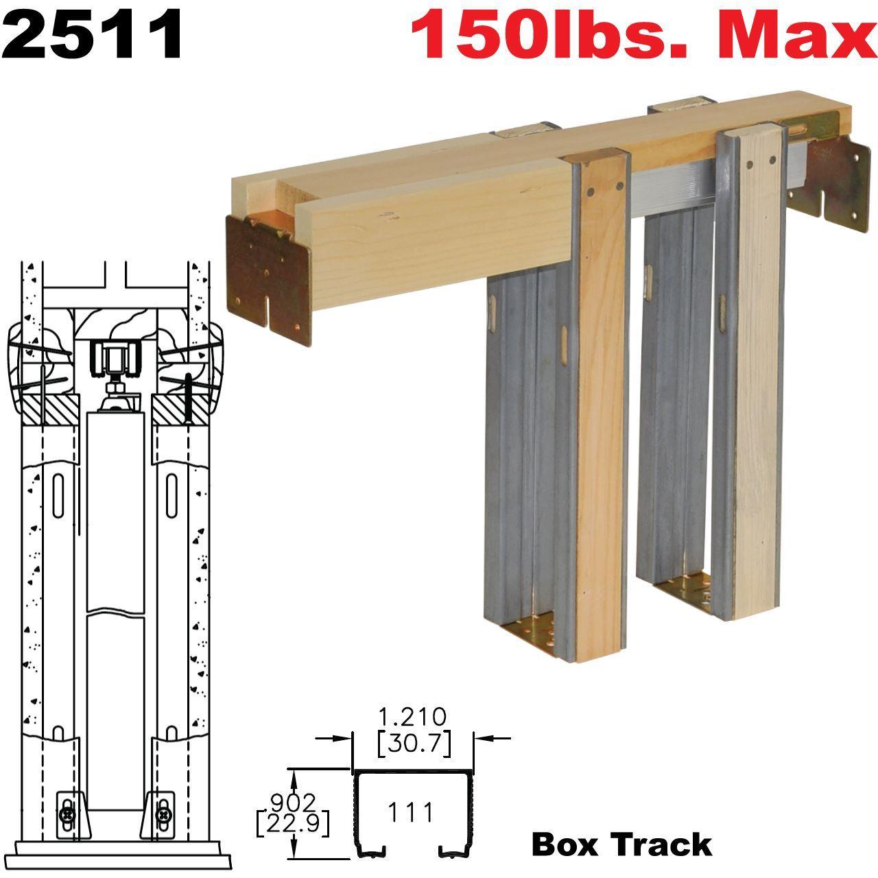 Johnson Hardware 2511 Pocket Door Frame Johnsonhardware