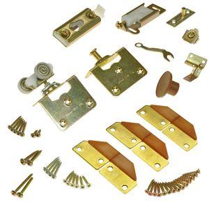 """Picture of 1031FD18 100FS 2-Panel Part Set, 1-1/8"""" Door, W/Hinges"""