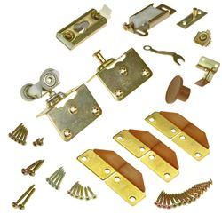 """Picture of 1031FD34 100FS 2-Panel Part Set, 1-3/4"""" Door, W/Hinges"""