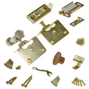 """Picture of 1031FD39 100FS 2-Panel Part Set, 1-3/8"""" Door, No Hinges"""