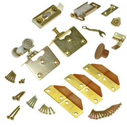 """Picture of 1031FD38 100FS 2-Panel Part Set, 1-3/8"""" Door, W/Hinges"""