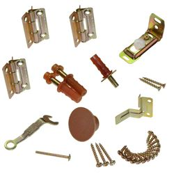Picture of 18310002 1825 2-Panel Part Set, Brown Knob