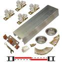 "Picture of 138F 36"" 2-Door Hardware Set, Mill Grade Track, Nylon Wheel Hanger"