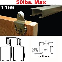 Picture of 1166 Sliding Bypass Door Hardware