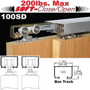 Picture of 100SD Sliding Bypass Door Hardware