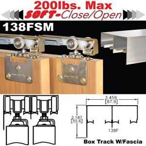 Picture of 138FSM Side Mount Sliding Bypass Door Hardware