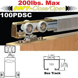 Picture of 100PDSC Soft-Close Pocket Door Hardware